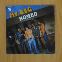 MR. BIG - ROMEO / GOODBYE WORLD - SINGLE