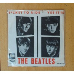 THE BEATLES - TICKET TO RIDE / YES IT IS - SINGLE