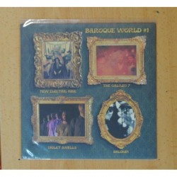BARROQUE WORLD 1 - VIOLET SWELLS, NEW ELECTRIC RIDE, THE GALILEO 7, BALDUIM - EP