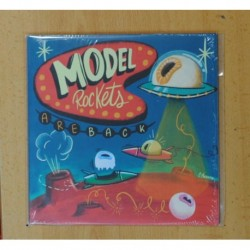 MODEL ROCKETS - ARE BACK - CALLING PANTHER LAKE + 3 - EP