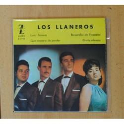 LOS LLANEROS - LUNA LLANERA + 3 - EP