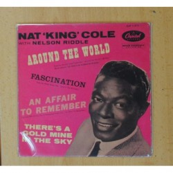 NAT KING COLE & NELSON RIDDLE - AROUND THE WORLD + 3 - EP