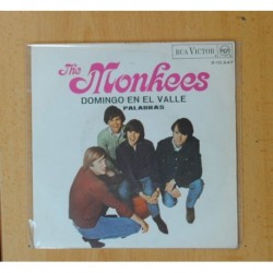 THE MONKEES - DOMINGO EN EL VALLE / PALABRAS - SINGLE
