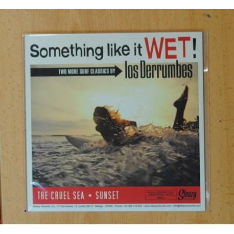 LOS DERRUMBES - THE CRUEL SEA + 3 - EP