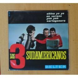 LOS 3 SUDAMERICANOS - CARTAGENERA + 3 - EP