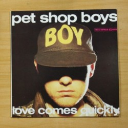 PET SHOP BOYS - LOVE COMES QUICKLY - MAXI