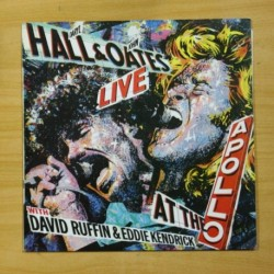 DARYL HALL / JOHN OATES - LIVE AT THE APOLLO - LP