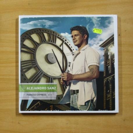 ALEJANDRO SANZ - PARAISO EXPRESS - INCLUYE CD Y DVD - 10 PULGADAS
