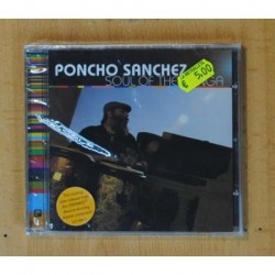 PONCHO SANCHEZ - SOULF OF THE CONGA - CD