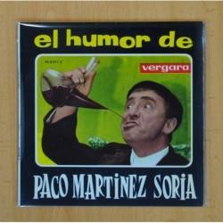 PACO MARTINEZ SORIA - EL HUMOR DE - EL TARTAJA / AGUSTIN VALVERDE - SINGLE