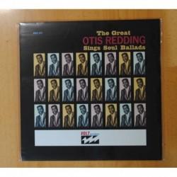 OTIS REDDING - THE GREAT OTIS REDDING SINGS SOUL BALLADS - LP