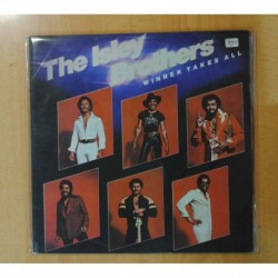 THE ISLEY BROTHERS - WINNER TAKES ALL - GATEFOLD - 2 LP