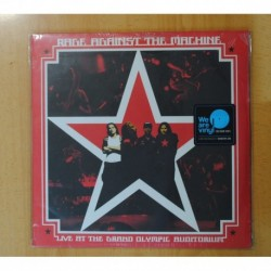 RAGE AGAINST THE MACHINE - LIVE AT THE GRAND OLYMPIC AUDITORIUM - LP