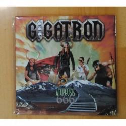 GIGATRON - ATOPEOSIS 666 - EDICION ESPECIAL PIRAMIDE - VINILO ROJO - LP