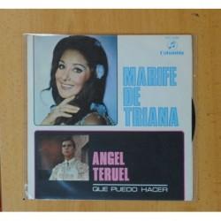 MARI FE DE TRIANA & ANGEL TERUEL - QUE PUEDO HACER - SINGLE