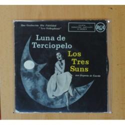 LOS TRES SUNS - LUNA DE TERCIOPELO + 3 - EP