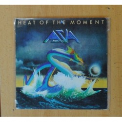 ASIA - HEAT OF THE MOMENT / RIDE EASY - SINGLE