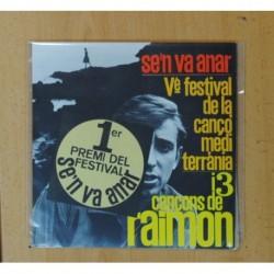 RAIMON - SEN VA ANAR + 3 - EP