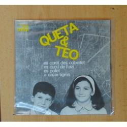 QUETA & TEO - A CACAR TIGRES + 3 - EP