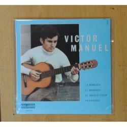 VICTOR MANUEL - LA ROMERIA + 3 - EP