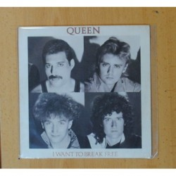 QUEEN - I WANT TO BREAK FREE / MACHINES - SINGLE