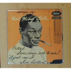 NAT KING COLE - SONGS BY - PRETENSIONES + 3 - EP