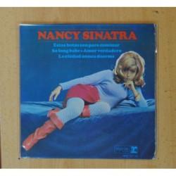 NANCY SINATRA - ESTAS BOTAS SON PARA CAMINAR + 3 - EP