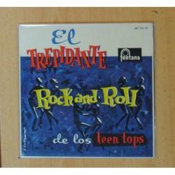 LOS TEEN TOPS - EL ROCK DE LA CARCEL + 3 - EP