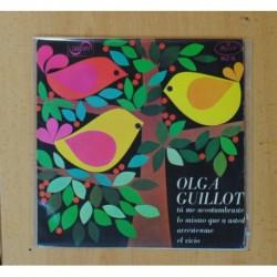 OLGA GUILLOT - TU ME ACOSTUMBRASTE + 3 - EP