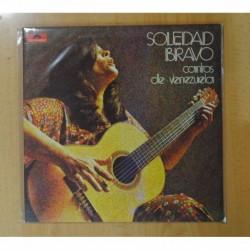 SOLEDAD BRAVO - CANTOS DE VENEZUELA - GATEFOLD - LP