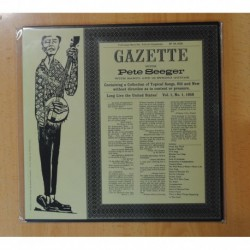 PETE SEEGER - GAZETTE WITH PETE SEEGER - LP