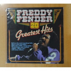 FREDDY FENDER - 20 GREATEST HITS - LP
