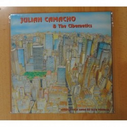 JULIAN CAMACHO & THE CIBERNETICS - NUNCA PASA NADA EN ESTE PUEBLO - LP
