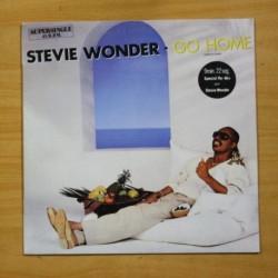STEVIE WONDER - GO HOME - MAXI