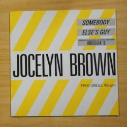 JOCELYN BROWN - SOMEBODY ELSE´S GUY - MAXI
