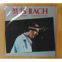 LLUIS LLACH - CAMP DEL BARCA 6 DE JULIO DE 1985 - GATEFOLD - 2 LP