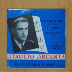 ATAULFO ARGENTA - LA TORRE DEL ORO / EL TAMBOR DE GRANADEROS - SINGLE