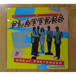 THE PLATTERS - THE GREAT PRETENDER - LP