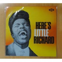 LITTLE RICHARD - HERE S LITTLE RICHARD - LP