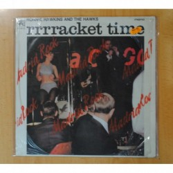 RONNIE HAWKINS AND THE HAWKS - RRRRACKET TIME - LP