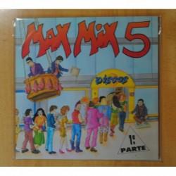 VARIOS - MAX MIX 5 1 PARTE - GATEFOLD - 2 LP
