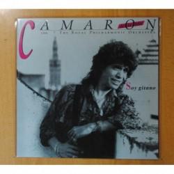 CAMARON DE LA ISLA CON THE ROYAL PHILHARMONIC ORCHESTRA - SOY GITANO - VINILO COLOR - LP