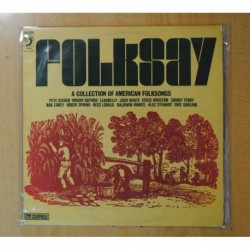 VARIOS - FOLKSAY / A COLLECTION OF AMERICAN FOLKSONGS - LP