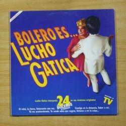 LUCHO GATICA - BOLERO ES... - 2 LP