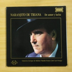 NARANJITO DE TRIANA - DE AMOR Y LUCHA - GATEFOLD - LP