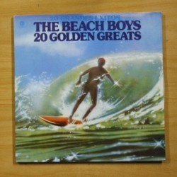 THE BEACH BOYS - 20 GOLDEN GREATS - GATEFOLD - 2 LP