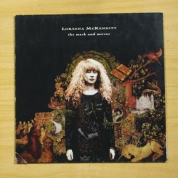 LOREENA MCKENITT - THE MASK AND MIRROR - MARCAS DE USO Y ALGO DE RUIDO - LP