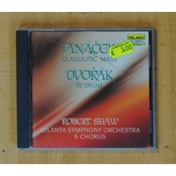 JANACEK / DVORAK - GLAGOLITIC MASS / TE DEUM - CD