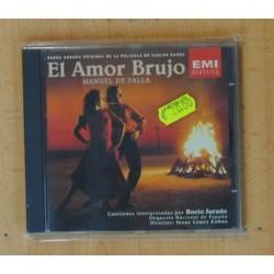 MANUEL DE FALLA - EL AMOR BRUJO - CD