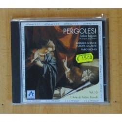 PERGOLESI - SALVE REGINA - CD